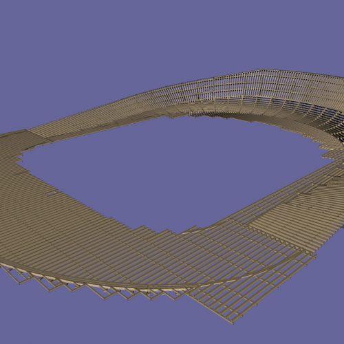 Audi Motodrom – Konstruktion